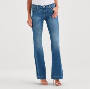 7 for All Mankind Dojo High-Waisted Flares